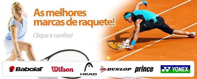 As melhores marcas de raquetes
